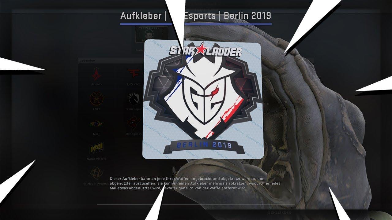 Starladder Berlin 2019 Sticker Ingame Cs Go Investments