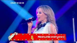 HD Kylie Minogue - BETTER THAN TODAY (Live at Children In Need)