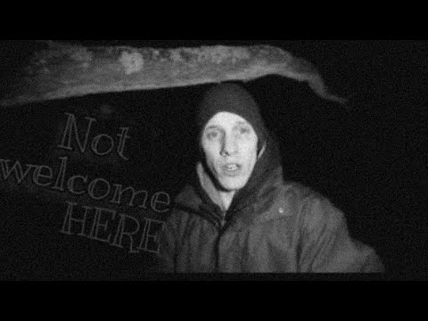 (WASNT WELCOME GOT TOLD TO GET OUT) ghost investigation at Friday woods