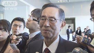 被災3県の定数削減「血の通わない考え」と細田氏(16/02/12)