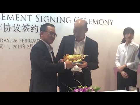 【韩国瑜来新加坡卖蔬果】韩国瑜成功和职总平价签下三年采购合约