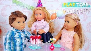 American Girl Doll Surprise Birthday Party! 🎀