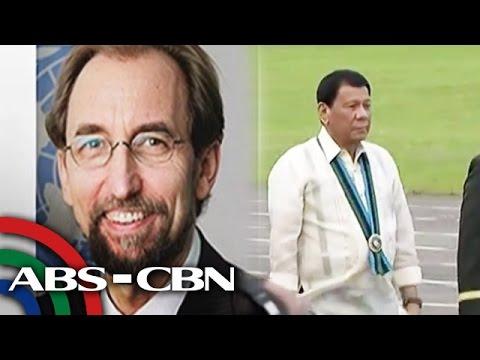 TV Patrol: UNHCHR, pinaiimbestigahan si Duterte
