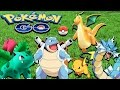 Pokémon GO - All Pokémons Evolutions Gameplay Walkthrough