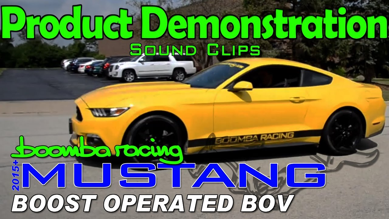 Boost Operated Blow Off Valve - Boomba Racing | 2015+ S550