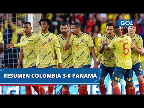 Colombia vs Panamá (3-0) goles y resumen del partido – Partido amistoso | Gol Caracol