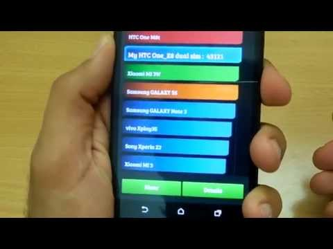 Htc One E8 review and benchmarks (Hindi)