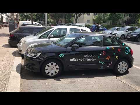 drive by berlin - Audi A1 Einblick und Promotioncode für die Anmeldung