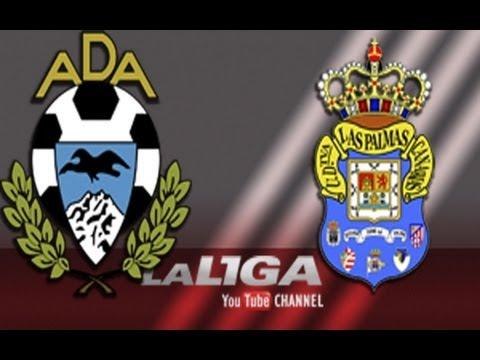 Gol de Fernando Sales (3-0) en el AD Alcorcón - UD Las Palmas - HD