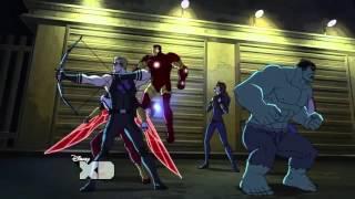 Marvel Assemble Guardian vs Avengers Clip
