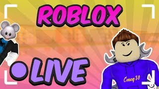 Robux Giveaway Every 10 Subs! | Free Robux! | Roblox Live With Fans! | Road To 4k Subs!