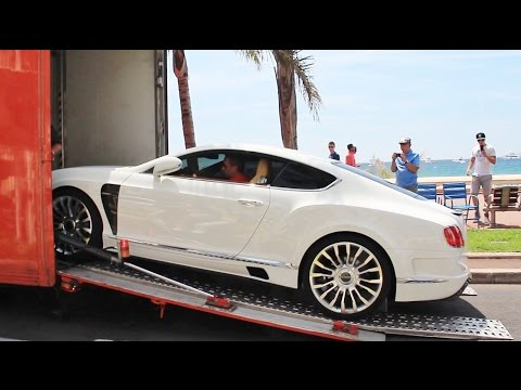 Mansory Bentley Continental GT Delivery in Cannes