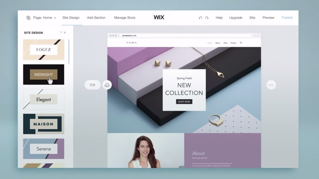 how to make an easy website