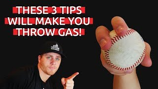 How To: 3 Tips To Throw Faster | Baseball Throwing Tips