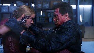 T-850 vs T-X (Bathroom Fight) | Terminator 3 [Open Matte 1.78:1]