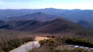 Brasstown Bald mountain 360 degree view (highest peak in Georgia)