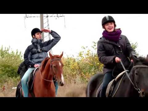 Прогулки на лошадях Запорожье от Остров приключений ТВ 5 программа ПЛАНШЕТ