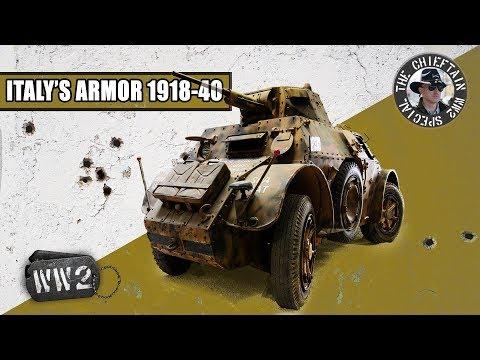 Development Of Italy's Armored Doctrine, 1918-1940