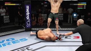 UFC 3 Ultimate Team - 100% Completion - UFC 200 Flashback 'Hard' Solo Challenges