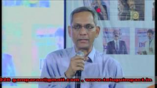 sri ramachandra murthy editor sakshi news paper at impact 2015
