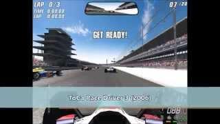 IndyCar Games Evolution