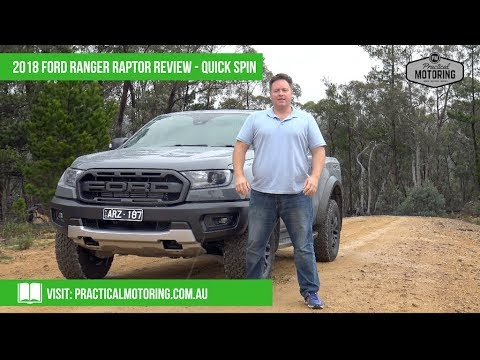2018 Ford Ranger Raptor Video Review - Quick Spin