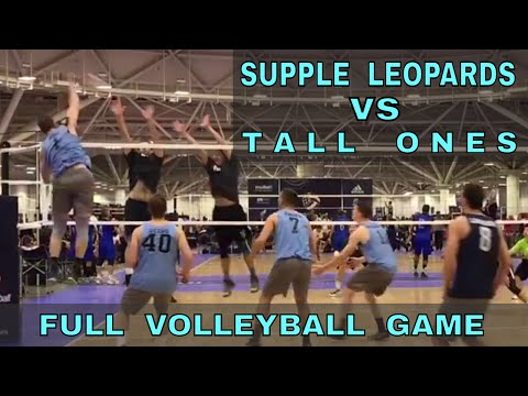 Supple Leopards vs Tall Ones (FULL GAME 7 Volleyball) - USAV 2017 Nationals