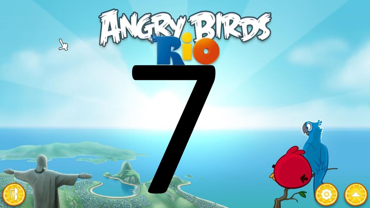 Lets play angry birds rio 07 murder that monkey youtube lets play angry birds rio 07 murder that monkey voltagebd Choice Image