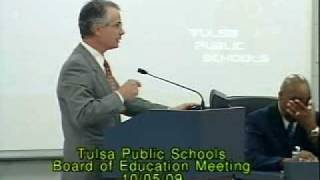 Tulsa Public Schools Board of Education Meeting Thumbnail