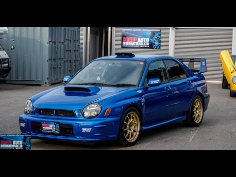 test drive 2002 subaru wrx sti prodrive edition. Black Bedroom Furniture Sets. Home Design Ideas
