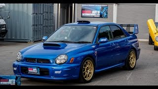 Test Drive - 2002 Subaru WRX STi Prodrive Edition - Japanese Car Auctions