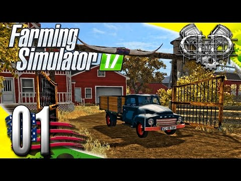 Farming Simulator 2017 Gameplay :EP1: American OutBack Map! (PC HD American Outback)