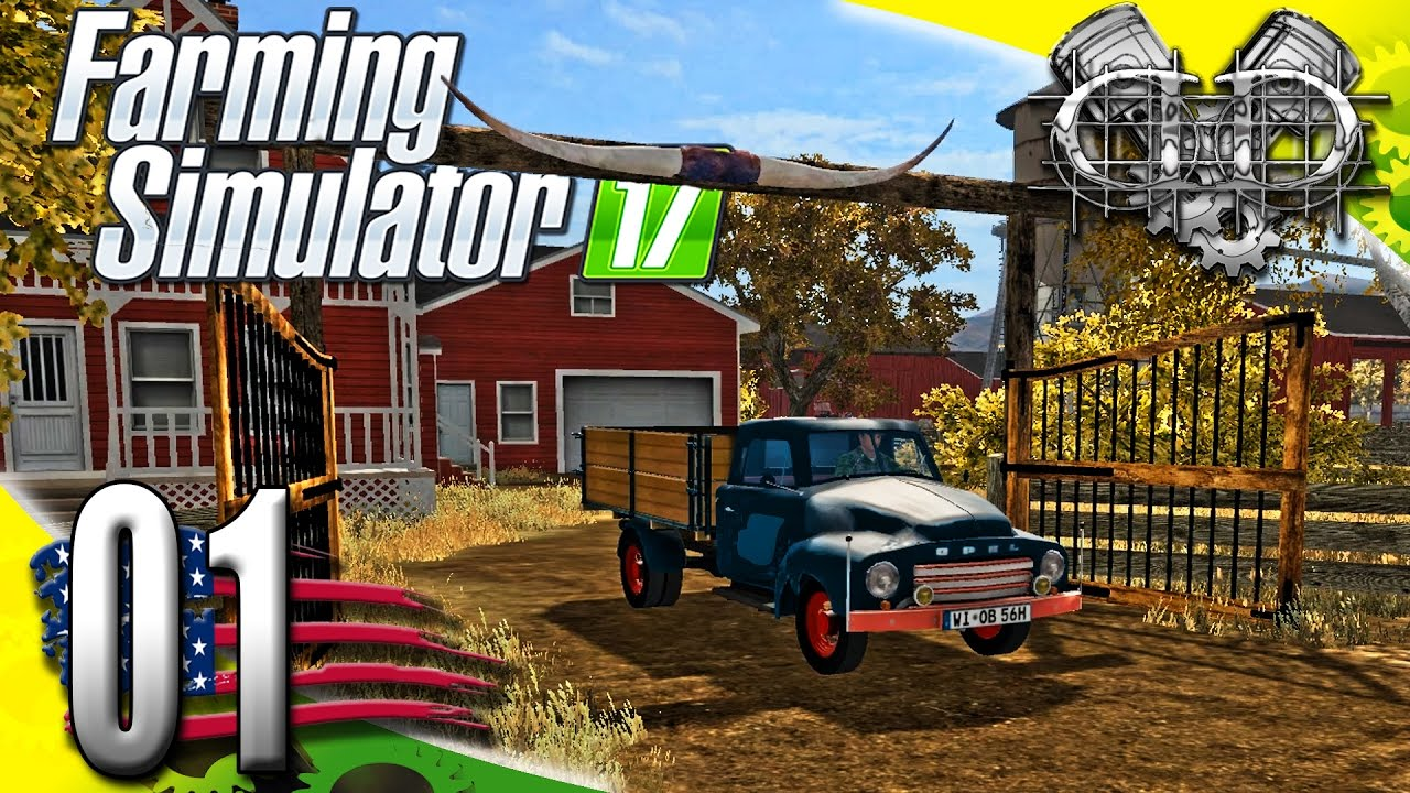 Farming Simulator 17 American Map.Farming Simulator 2017 Gameplay Ep1 American Outback Map Pc Hd