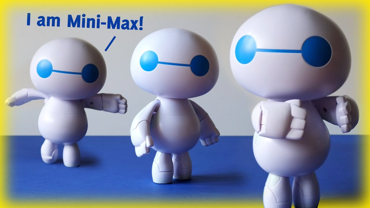 Mini Max The Small Baymax Robot From Big Hero 6 The Series Youtube