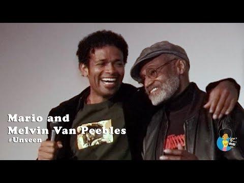 Melvin and Mario Van Peebles - Badasss Q&A (2004) #Unseen