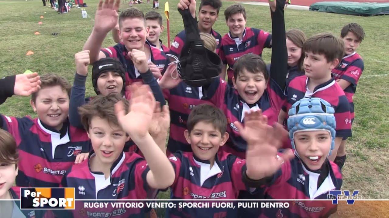 Per Sport - Rugby Vittorio Veneto: sporchi fuori, puliti dentro