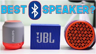Which is the best Wireless Bluetooth Speaker? with a Blind sound test!