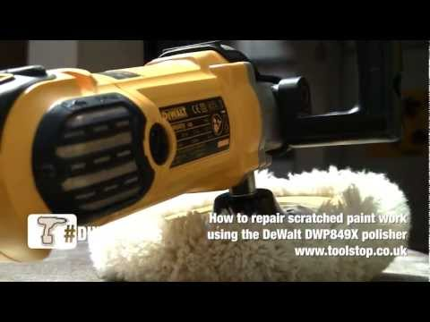 How To Remove Scratches from Paintwork - DeWalt DWP849X Polisher