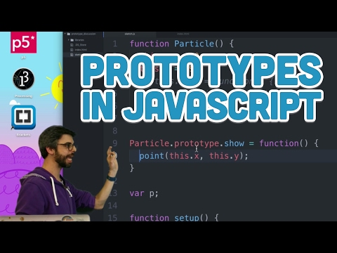 9.16: Prototypes in Javascript - p5.js Tutorial