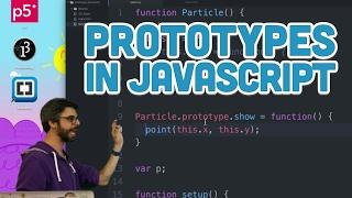 9.19: Prototypes in Javascript - p5.js Tutorial