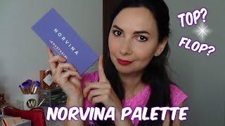 NORVINA PALETTE ABH - MakeUp Look, Swatch, Comparazioni e Prime Impressioni | chiore83
