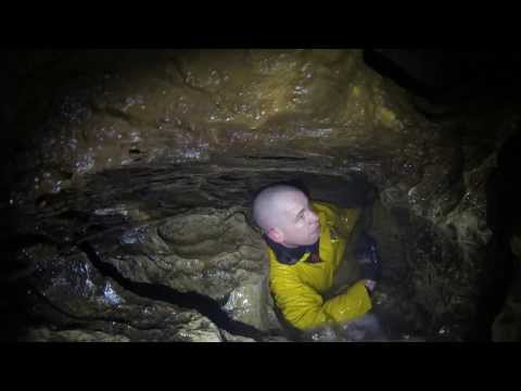 Getting Stuck in 'The Tube'  -  Lost Johns Cave