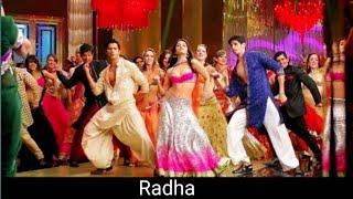 Gambar cover Radha song lyrics - Student of the year | Vishal Dadlani | Udit narayan | Anvita Dutt Guptan