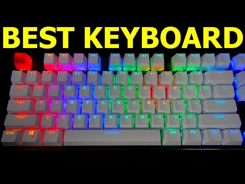 THE BEST GAMING KEYBOARD! Glorious Modular RGB Mechanical Gaming Keyboard V2 Product Review