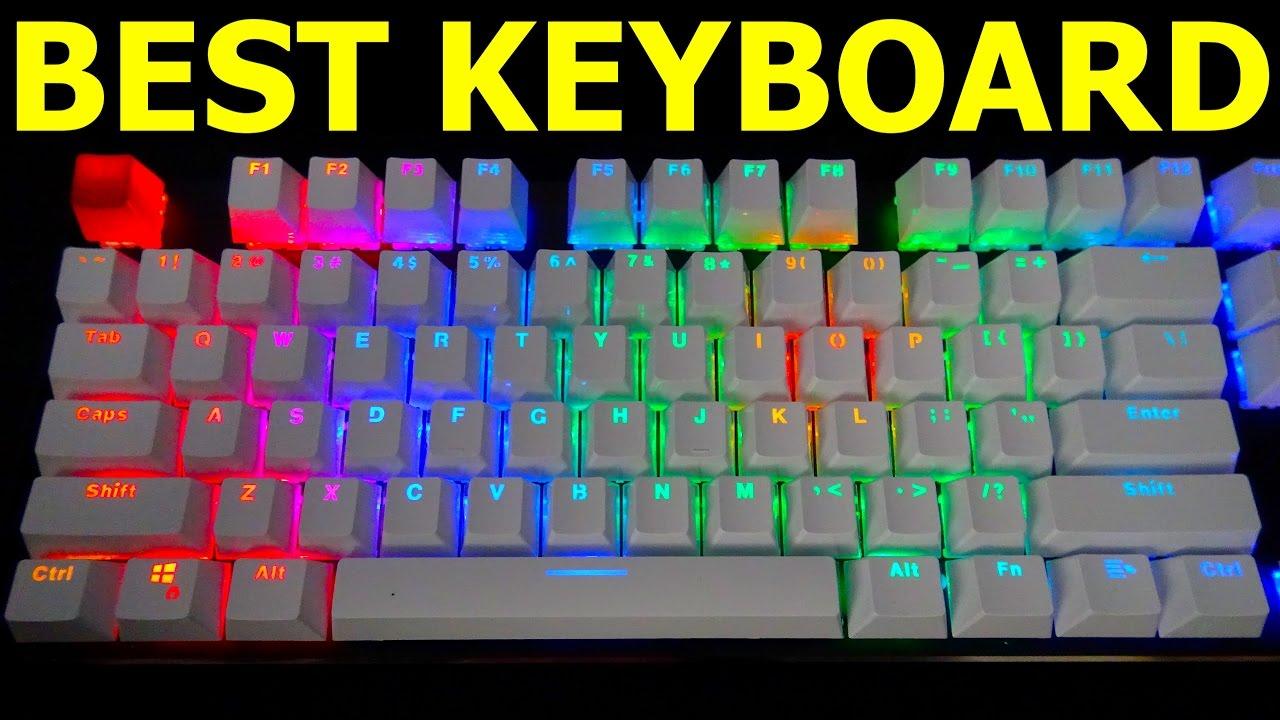 18a57da8e38 THE BEST GAMING KEYBOARD! Glorious Modular RGB Mechanical Gaming ...