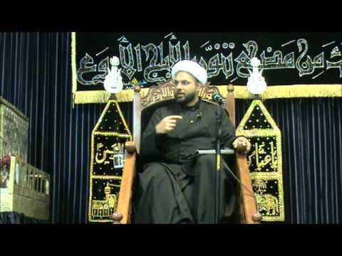 5th Muharram - Sheikh Mohammed Ali Ismael : Sakina Trust 1434
