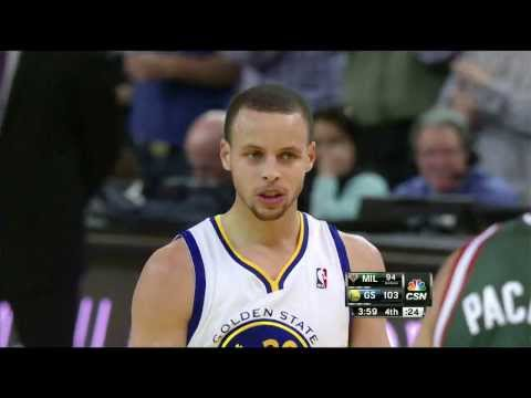 Stephen Curry's INSANE Circus Shot Plus the Foul