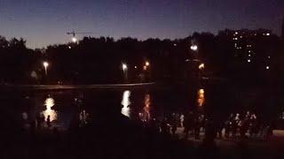 Салют 🎆 9 Мая 2018 Москва, Парк Дружбы