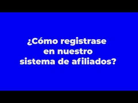 Cómo registrase en el Sistema de Afiliados de la Academia Barter Rubio