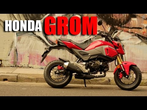 2017 Honda Grom The Best Small Bike Ever Youtube